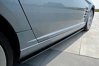 Боковые диффузоры на пороги юбка накладки тюнинг Chrysler Crossfire