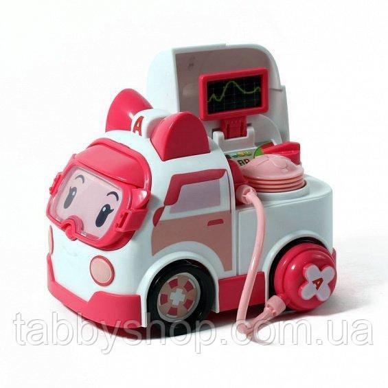Машинка Robocar Poli Эмбер с аксессуарами