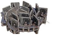 Транспортер скребковый центральный на зернометатель ЗМ-90 усиленный