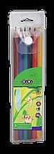 Карандаши цветные 6цв PROTECT ZiBi в пенале