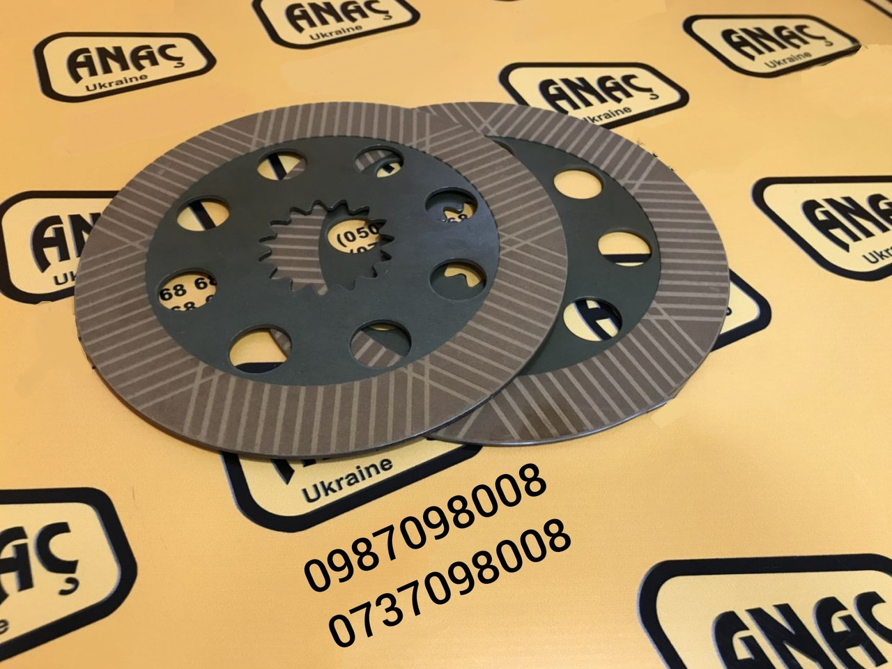 Тормозной диск фрикционный на JCB 3CX, 4CX  номер : 458/20353, 450/10224, 450/10211
