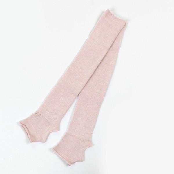 Гетры гимнастические Chacott JUNIOR LEG COVERS №48 (48 см.) / One Size / Цвет: 042.Salmon Pink