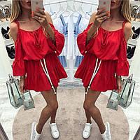 Платье женское на завязках, фото 1