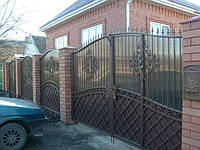 Ворота фактурные