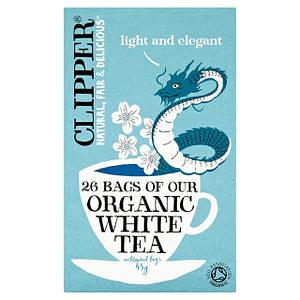 Чай белый органический Clipper, 26п.х1,7г