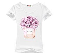 Стильная женская футболка с цифровой печатью