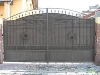 Ворота кованые распашные (MD-VKR-010)