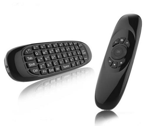 Аэромышь с клавиатурой Air Mouse C120 English Black