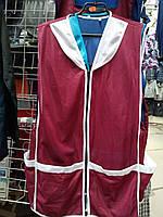 Нейлоновый  рабочий  фартук/халат четыре кармана на замке, фото 1