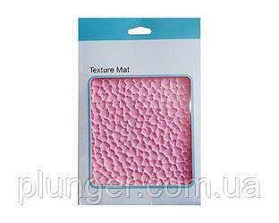 Силіконовий текстурний килимок для євродесертів Сердечка