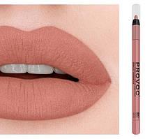 Полуперманентный гелевый карандаш для губ №802 (персиковый нюд) PROVOC Gel Lip Liner Zalmon