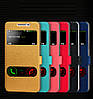 """Samsung G530 / 531 GRAND PRIME чехол книжка оригинальный SMART с окошками для телефона """"SILC ROZMOI"""", фото 2"""
