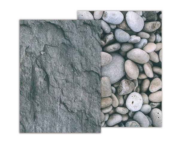 Бумага с рисунком А4 Heyda Галька / Камень 21х29.7см двухсторонняя 300г/м2 4823064953923, фото 2