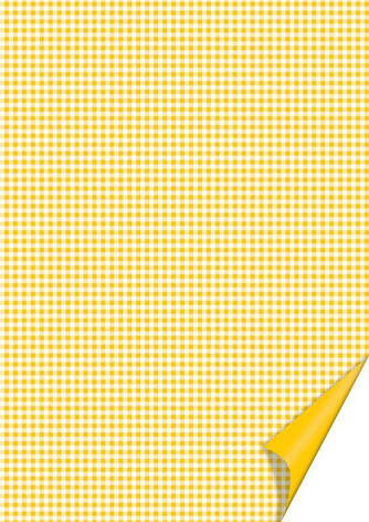 Бумага с рисунком А4 Heyda Квадратдвусторонняя Желтая 21x31см 200г/м2 4005329746215, фото 2