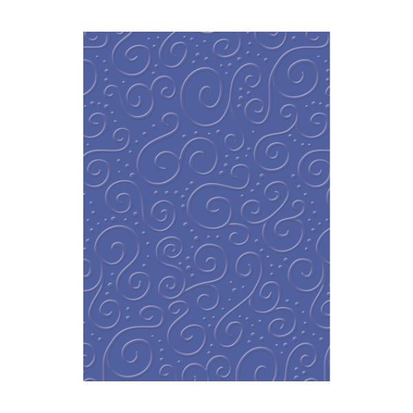 Бумага с тиснением Heyda Милан Синяя 21x31см 220г/м2 4005329726231