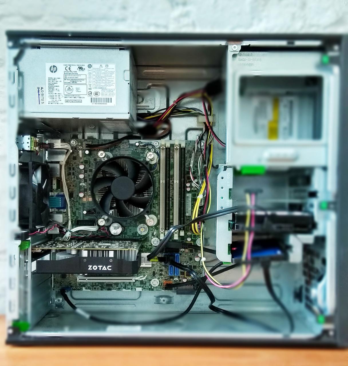 Игровой компьютер бу ПК , процессор intel Core i5 4570 4 ядра 3.2GHz , ОЗУ 8GB DDR3 , видеокарта GTX 1060 3Gb