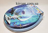 Мягкое сиденье для унитаза Aqua Fairy (сиденье голубого цвета)