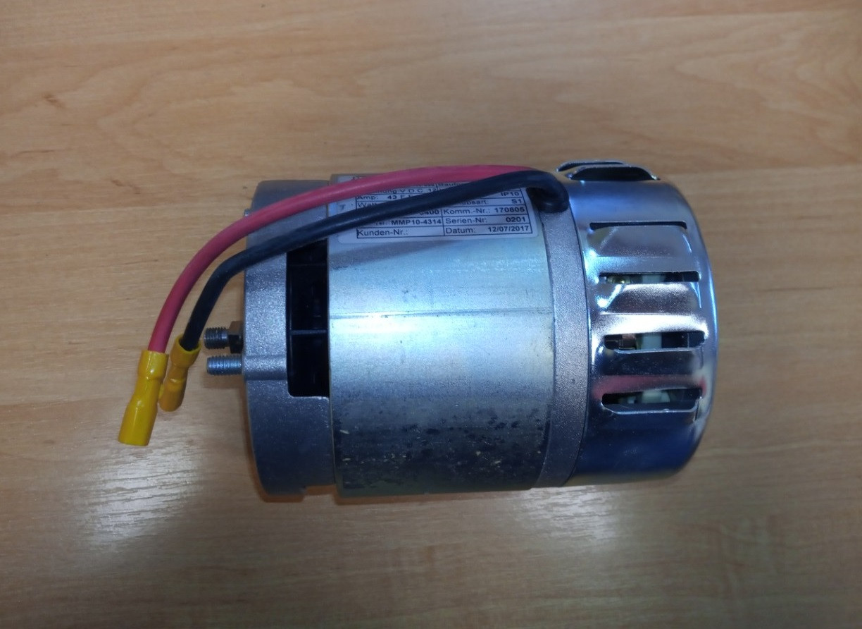 Електродвигун бічного ножа циглер (ziegler) 12-050961