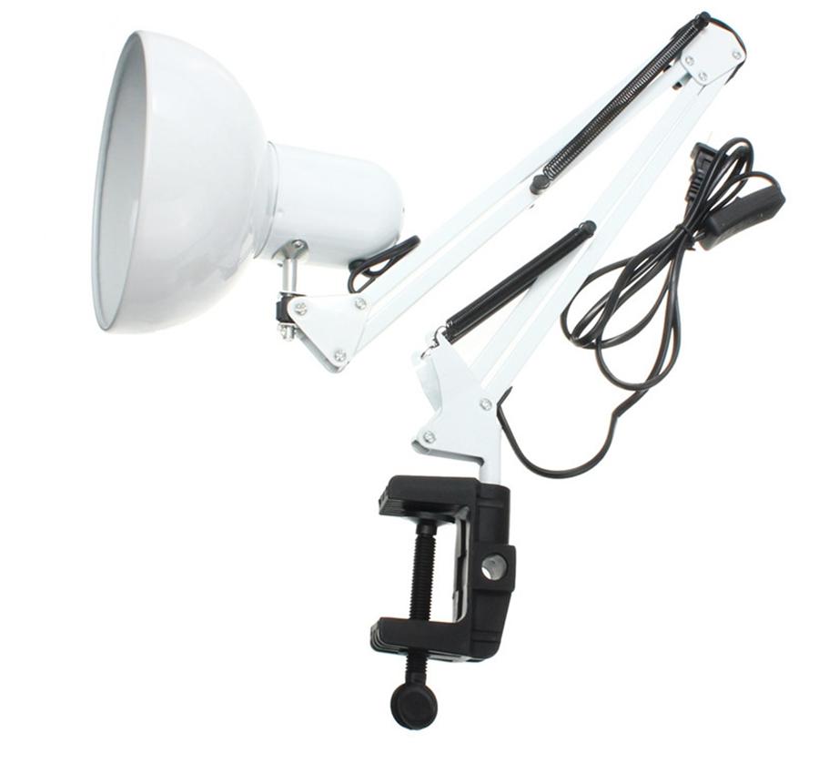 Лампа настольная для маникюра с зажимом