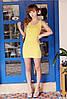 Платье майка туника Рretty желтая