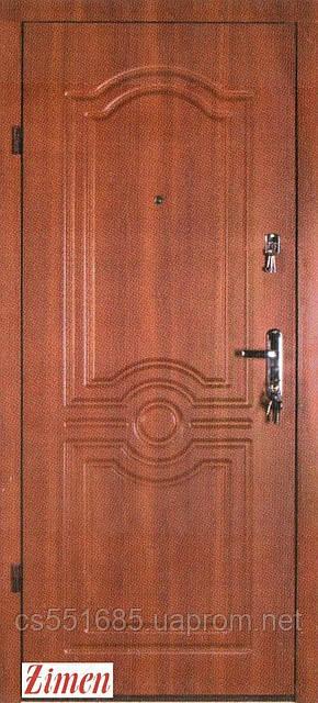 Входные металлические двери Zimen коллекция Лондон