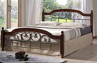 Кровать кованая двуспальная Медея 160 (Medeya 160)
