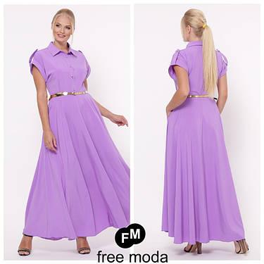 Модное яркое  женское платье в пол   батал 48-54 размеры, фото 2