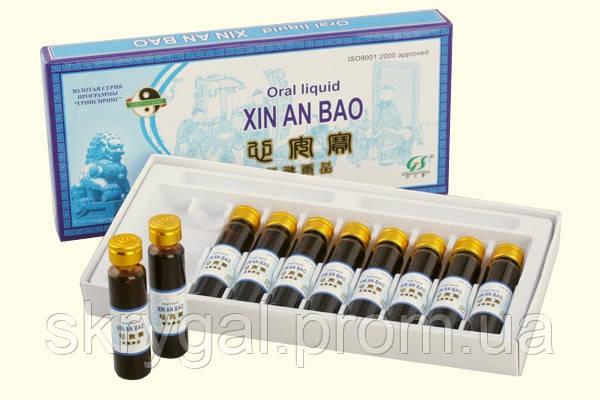 "Эликсир ""Синь Ан Бао"" / Xin An Bao 10 флак. по 10 мл ""Спокойное сердце"""