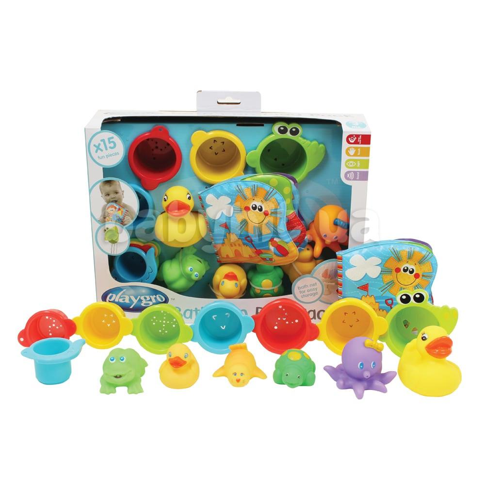 Игрушки для бассейна Playgro 15 элементов