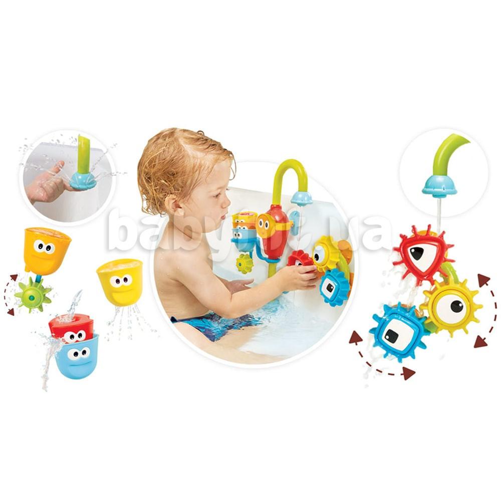Игрушка для ванной Yookidoo Волшебный кран большой набор