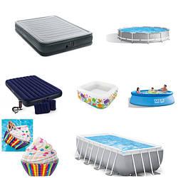 Intex продукция (бассейны, кровати, матрасы)
