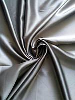 Ткань блэкаут серый темный для светонепроницаемых штор