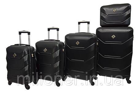 Чемодан Bonro 2019 набор 5 штук черный, фото 2