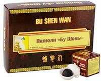 Пилюли Бу Шень / Bu Shen Wan 6 пилюль по 10 г.Оздоравливающие действие на мочеполовую систему