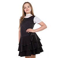 Нарядный школьный сарафан для девочки подростка