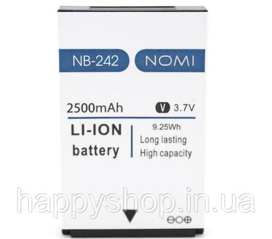 Оригинальная батарея Nomi i242 (NB-242), фото 2