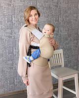 """Эрго-рюкзак """"ForKids"""" Жемчуг, летний хлопок, для детей от 10-11 кг, второй размер, фото 1"""