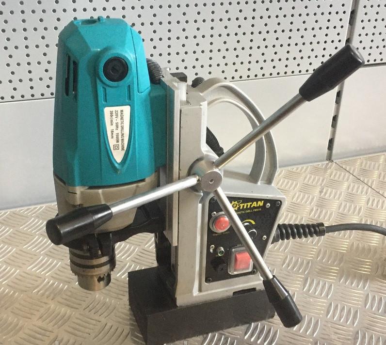Сверлильный станок с электромагнитным основанием Титан PMD16
