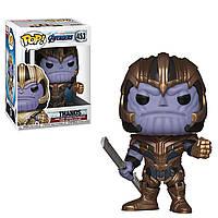 "Фигурка Funko Pop ""Мстители: Завершение"" Танос в броне (36672) #453 Marvel Thanos, фото 1"