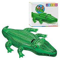 """Надувний пліт """"Крокодил"""" Intex (58562), фото 1"""
