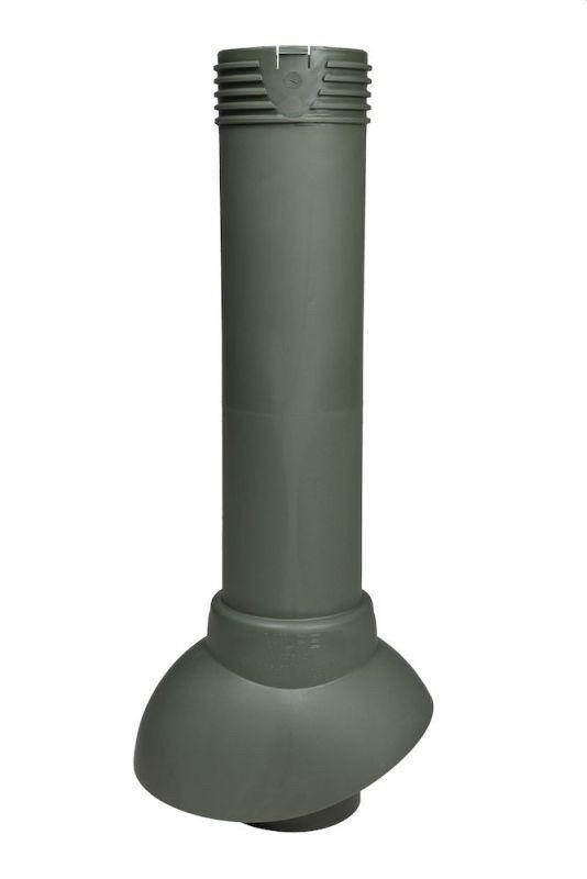 Вентиляционный выход VILPE® 110/500/Н. Зелёный