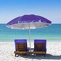 Пляжный зонт с наклоном 2.0 Umbrella Anti-UV фиолетовый