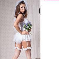 Нежный эротический костюм невесты №144 на девишник