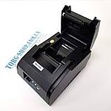 Принтер чеков для магазина Xprinter XP58 IIL, фото 3