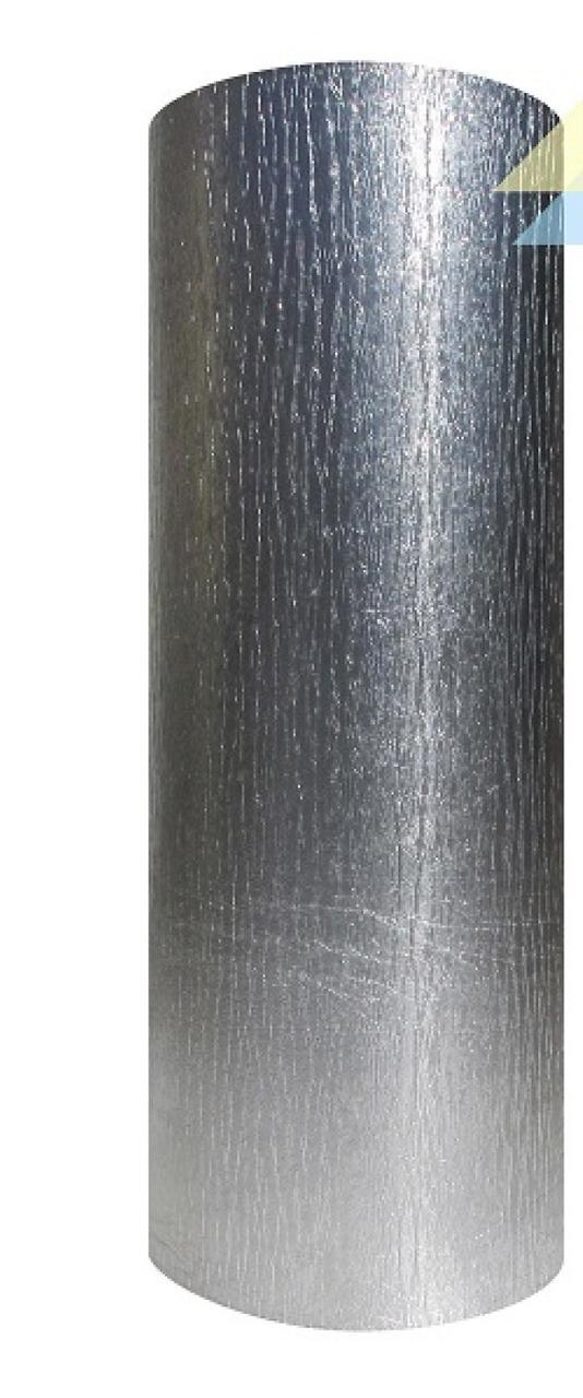 Вспінений поліетилен IZOLON BASE 8 мм, фольгований, 1 м