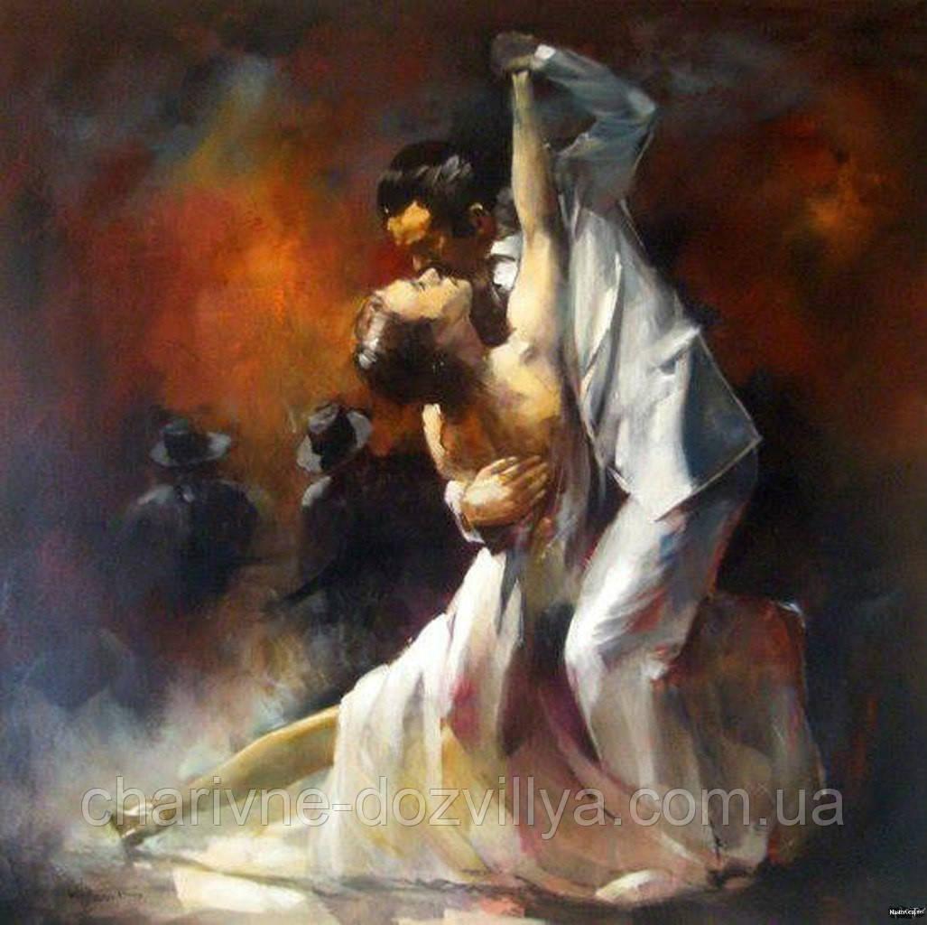 Танец алмазная вышивка