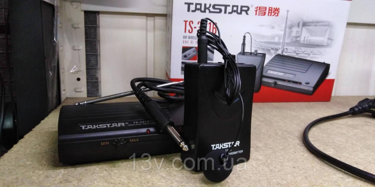 Радіомікрофони  Takstar TS-331b (радиомикрофон) (петличный микрофон)