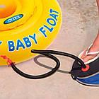 Ножной насос для надувания Intex 68610 (объем 5 л, высота насоса 30 см), фото 3