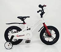 """Детский велосипед SIGMA MERCURY 16"""" с дисковыми тормозами. Магниевая рама (Magnesium), белый, фото 1"""