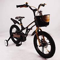 """Детский велосипед SIGMA GALAXY Black 18"""" магниевая рама (Magnesium), фото 1"""